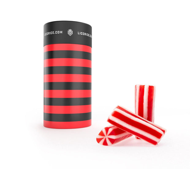 Licorice Candy Canes - Licorice.com