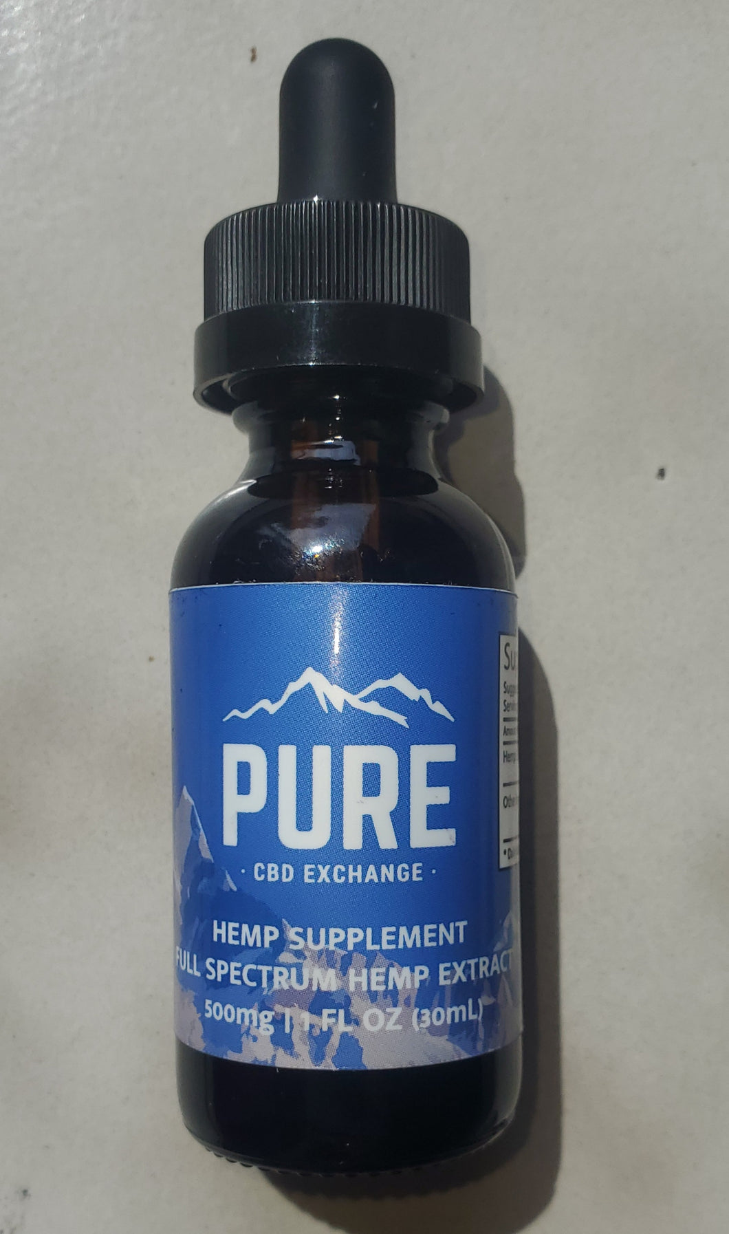 Pure CBD 500mg Full Spectrum CBD OIL Extract
