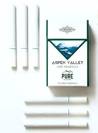 Aspen Valley CBD Cigarettes Preroll No Tobacco
