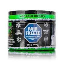 Hemp Bomb CBD Cream Pain Freeze 1oz