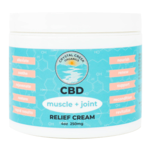 Crystal Creek Organics Pain Relief CBD Cream 250mg