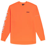RESPECT LONG SLEEVE TEE - ORANGE