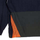 COLOR BLOCK ANORAK - NAVY