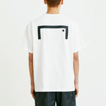 BACK BIG LOGO TEE (LOOSE FIT) - WHITE