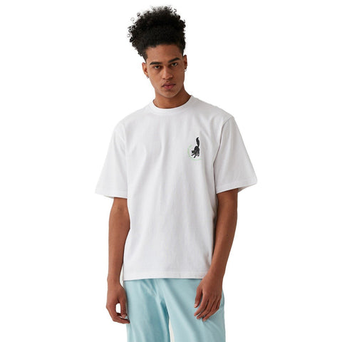 MC BALL GRAPHIC TEE - WHITE