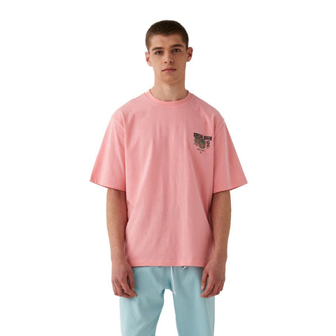 MC BALM LOGO GRAPHIC TEE - PINK