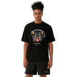 MC FACE GRAPHIC TEE - BLACK