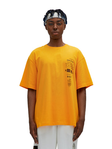 SSFC JERSEY SINGLE SHORT SLEEVE - YELLOW