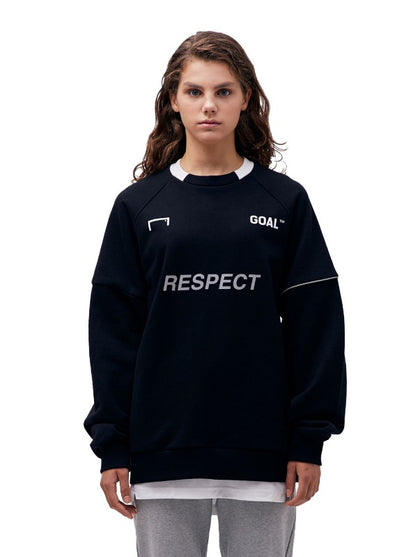 RESPECT SWEATSHIRT - BLACK