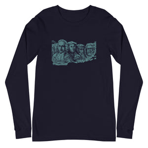 Reformed Rushmore Unisex Long Sleeve Tee