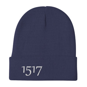 1517 Reformation Date Embroidered Beanie