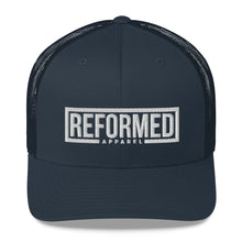 Load image into Gallery viewer, Reformed Apparel Logo Trucker Cap