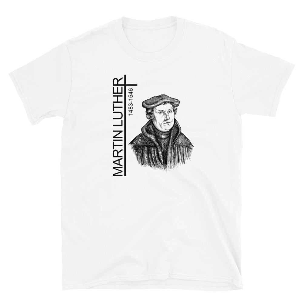 Martin Luther Portrait Short-Sleeve Unisex T-Shirt