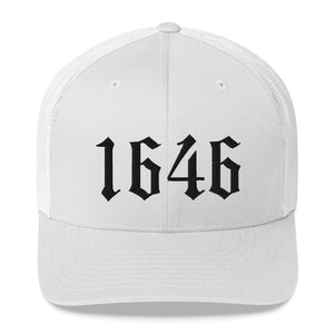 1646 Westminster Confession of Faith Date Trucker Cap