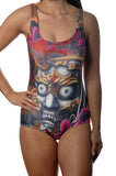 Tattoo Art One-Piece Swimsuit Design 5033