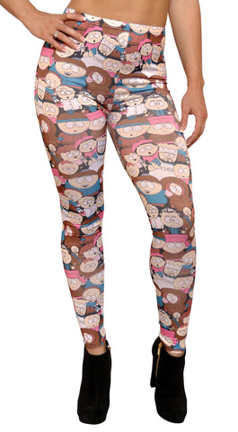 Brown South Park Leggings Design 463