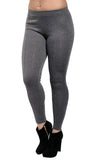 Dark Gray Middle Line Leggings Design 45