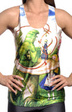 Alice in Wonderland Tank Top Design 13001