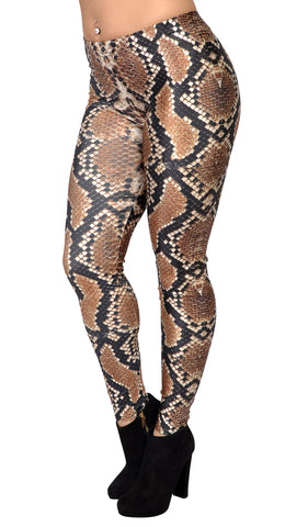 Boa Constrictor Leggings Design 438