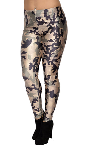 Army Camo Leggings Design 198