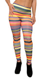 Colorful Rings Leggings Design 210