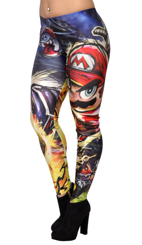 Super Mario Leggings Design 282