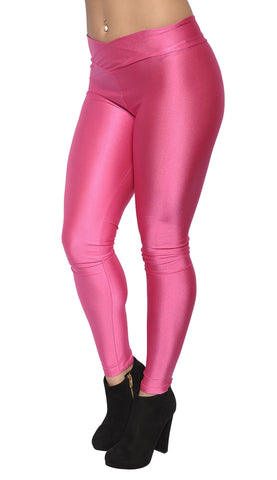 Pink V-waist Leggings Design 313