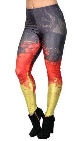 German Flag Leggings Design 259