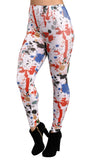 Paint Splatter Leggings Design 330