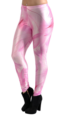 Galaxy Pink Smoke Leggings Design 261