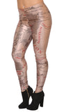 Middle Earth Map Leggings Design 111