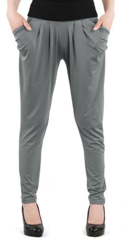 Gray Harem Pants Design 342