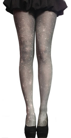 Black Galaxy Pantyhose Design 4005