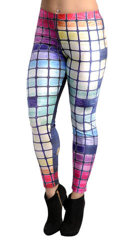 Stained Wood Leggings Design 612