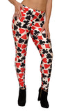 Diamonds Hearts Clubs and Spades Leggings Design 320