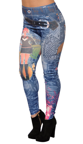 Blackhill Tattoo Leggings Design 139