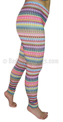 Rainbow Kaleidoscope Leggings