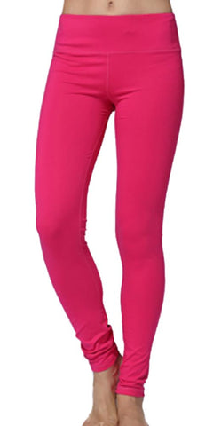 Hot Pink Yoga Leggings Design 543