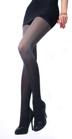 Black Gradient Stockings Design 9006