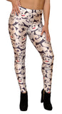 Black and White Panda Leggings Design 461