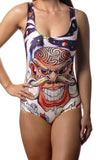 Tattoo Art One-Piece Swimsuit Design 5031