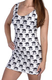 At-At Walkers Sleeveless Mini-Dress Design 3006