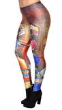 Cave Painting Leggings Design 127