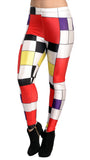 Colorful Squares Leggings Design 361