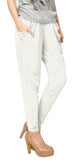White Harem Pants Design 325