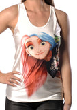 Punk Ariel Slipknot Tank Top Design 13040