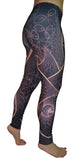Fractal Print Leggings Design 533
