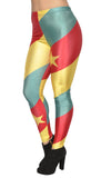 Cameroon Flag Leggings Design 482