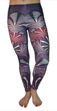 Fractal Print Leggings Design 520