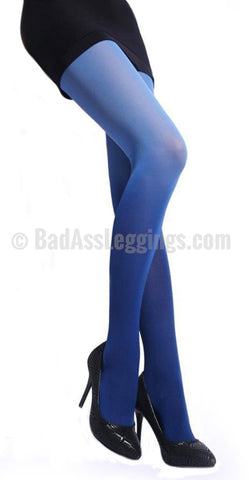 Blue gradient stockings size medium
